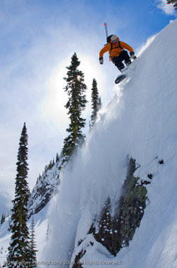 Newsomesnow Quest Inc, snowboard guiding, BC and Alaska